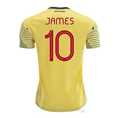 World Cup 2020 Colombia.Amazon Com Feng Colombia 2019 2020 10 James Rodriguez Copa