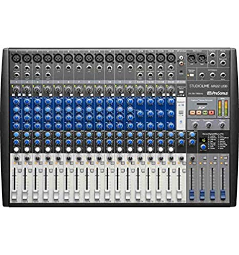 Mesa de mezclas digital Presonus StudioLive AR22 USB: Amazon.es ...