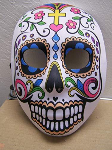 (Dia de Los Muertos Day of The Dead Sugar Skull Halloween Mask Full Face)