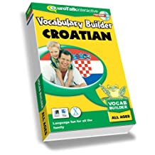 Vocabulary Builder - Learn  Croatian - For Children 4 & Up