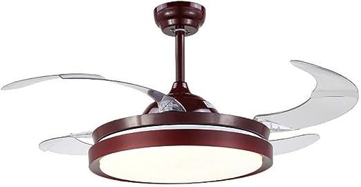 Luz moderna para ventilador de techo, ventiladores eléctricos ...