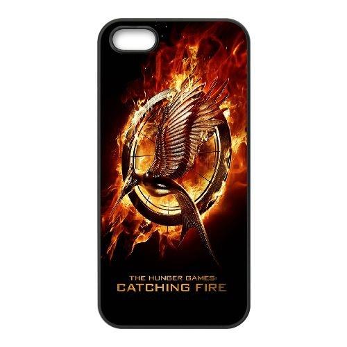The Hunger Games MJ46QF7 coque iPhone 5 5s cellulaire cas de téléphone coque O4MH8D1DW