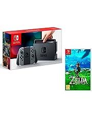 Nintendo Switch 32Gb Grau + The Legend of Zelda: Breath of the Wild