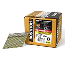 BOSTITCH S10DGAL-FH 28 Degree 3-Inch by .120-Inch Wire Weld Galvanized Framing Nails, 2,000 per Box