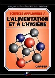 Sciences appliquées à l'alimentation et à l'hygiène CAP/BEP