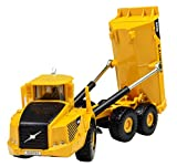 1:87 Scale Truck Construction Equipment Vehicle Moveable Alloy Tip Lorry Articulated Dump truck