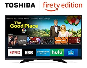 Toshiba 50-inch 4K Ultra HD Smart LED TV with HDR - Fire TV Edition