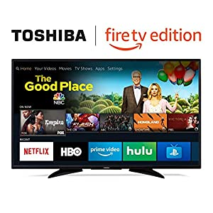 Toshiba 50LF621U19 50-inch Smart 4K UHD TV - Fire TV Edition 2
