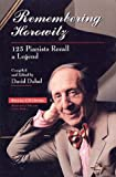 Remembering Horowitz, David Dubal, 0028602692