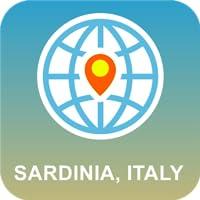Sardegna, Italia Mappa Offline