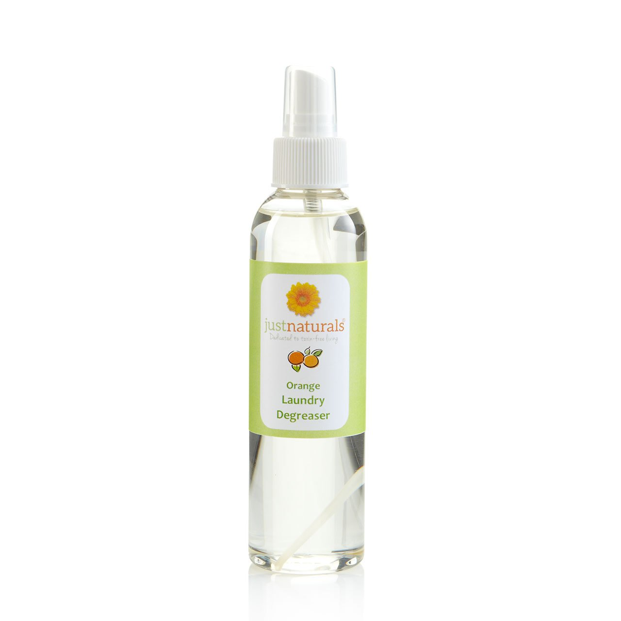 Just Naturals Orange Degreaser- Highly Effective for Cleaning and Laundry 2 oz.