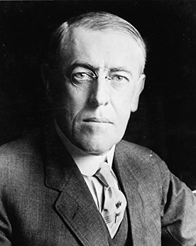 Photo Print 8x10: Woodrow Wilson, Head-And-Shoulders Portrait, Facing - Woodrow Glasses