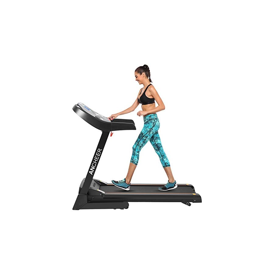 APP Bluetooth Control Electric Folding Treadmill With Incline Z900