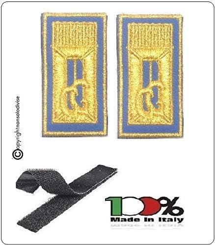 GS1 Alamari Bordados con Velcro Azul para Polo o Camisa y Mono ...