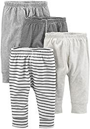 Simple Joys by Carter's baby-girls 4-Pack Pant P