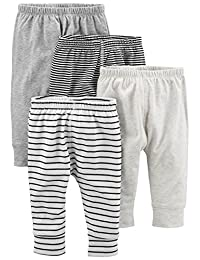 Simple Joys by Carter's unisex-baby 4-Pack Pant Pants