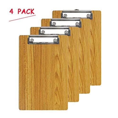 Oak Pine A5 Size Memo Clipboards