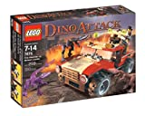 LEGO Dino Attack Fire Hammer vs. Mutant Lizard