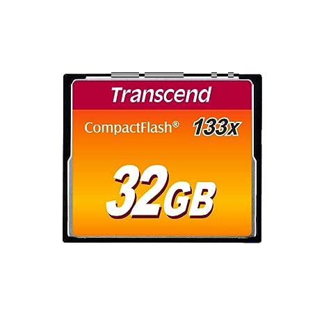 Transcend TS32GCF133 - Memoria Compact Flash de 32 GB