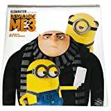 Despicable Me 3 BUNDLE 4 Pieces Coloring Book, Calendar, Stickers and Crayons
