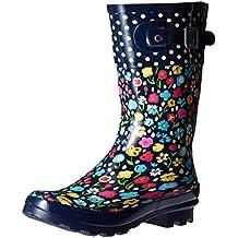 Western Chief Kids Classic Top Pop Floral Fun Rain Boots