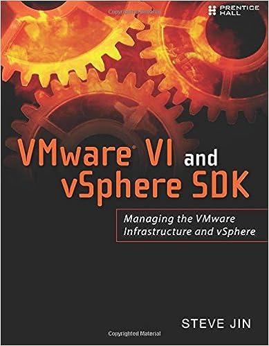 VMware VI and vSphere SDK: Managing the VMware