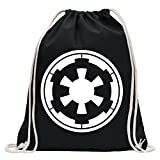 Galactic Empire Fun sport Gymbag shopping cotton drawstring Review