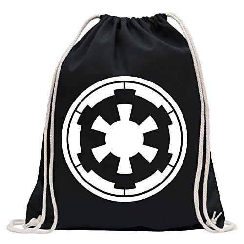 Galactic Empire Fun sport Gymbag shopping cotton drawstring