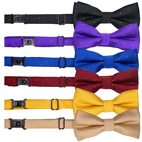 YOY Handcrafted Pet Bow Tie - Adjustable Neck Tie 11.4