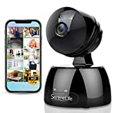 SereneLife Indoor IP Camera - HD 720P Network Security Surveillance Home Monitoring w/Motion Detection, Night Vision, Ptz, 2 Way Audio, iPhone Android Mobile App Pc WiFi Access - IPCAMHD30BK