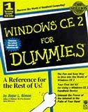 Windows CE 2 for Dummies, Jinger L. Simon, 0764503227