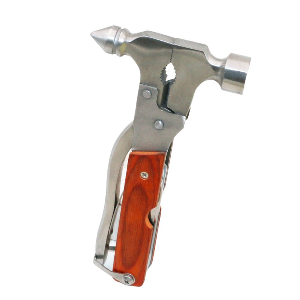 Multi-functional Manual Tool Stainless Steel Safety Hammer