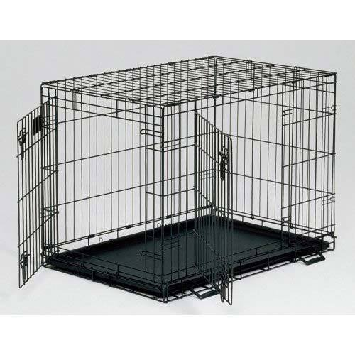 Large Midwest Life Stages - Midwest Life Stages Double Door Dog Crate 22