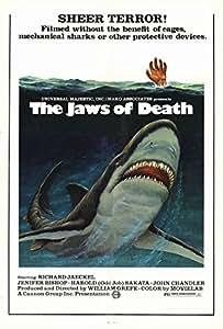 Póster de película las fauces de la muerte en 27 x 40 - 69 cm x 102 cm Richard Jaeckel Harold Sakata Jennifer Obispo John Dee Chandler Buffy