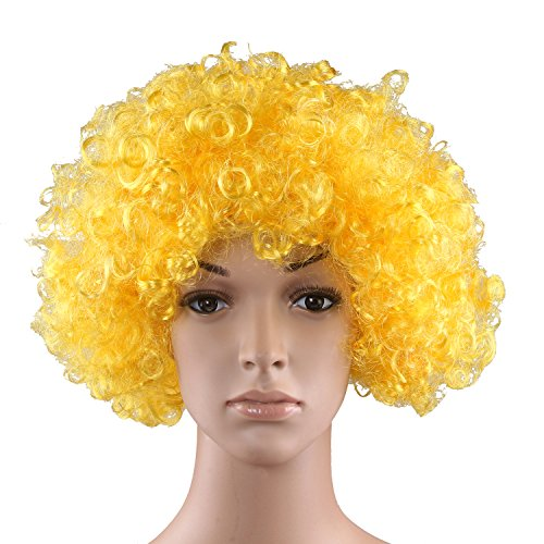 HÖTER Curly afro wig,costume wig,clown wig,assorted colour