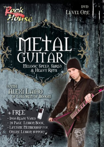 Alexi Laiho of Children of Bodom, Melodic Speed, Shred & Heavy Riffs Level -