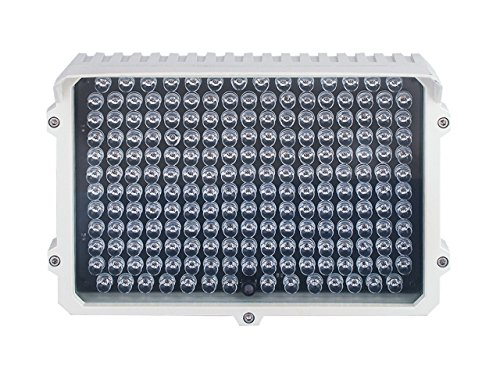 CMVision IR130 - 198 LED Indoor/Outdoor Long Range 300-400ft IR Illuminator With Free 3A 12VDC (12 Infrared Illuminator)