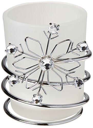 FashionCraft Snowflake Candles
