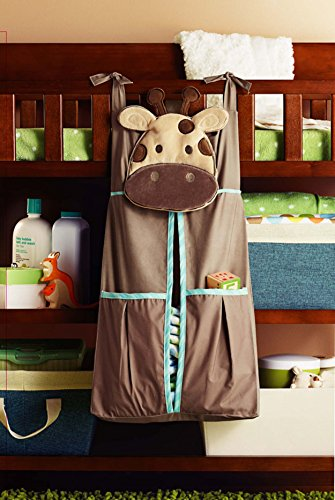 Baby Boy Safari Crib Bedding diaper stacker - (Baby Bedding Diaper Stacker)