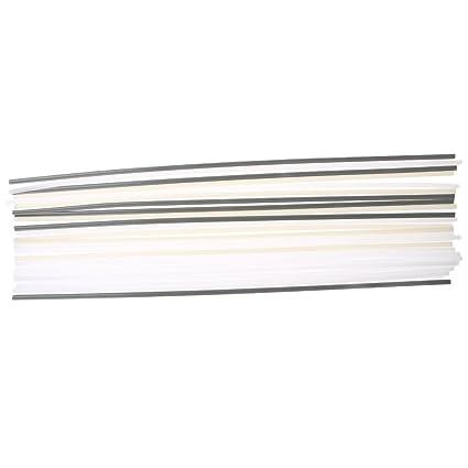 4 tipos de varillas de soldadura de plástico Abs/Pp/Pvc/Pe para