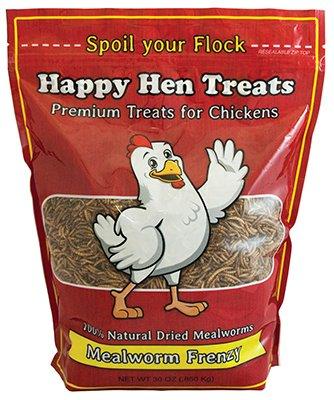 (4 Pack) Happy Hen Treats Mealworm Frenzy, 30-Ounces each