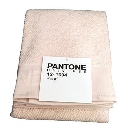 842c53a7d1 TELO BAGNO SPUGNA CM 100 x 170 PANTONE by BASSETTI 12-1304 PEARL ROSA:  Amazon.it: Casa e cucina