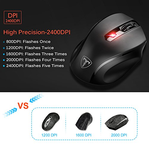 VicTsing 2.4G Wireless Portable Mobile Mouse