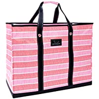 SCOUT 4 Boys Bag, Extra Large, Durable All Purpose Foldable Utility Tote, Folds Flat, Water Resistant, Zips Closed, Adrenaline Blush