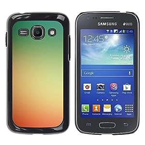 Be Good Phone Accessory // Dura Cáscara cubierta Protectora Caso Carcasa Funda de Protección para Samsung Galaxy Ace 3 GT-S7270 GT-S7275 GT-S7272 // Yellow Red Sunset Summer Sun Warm