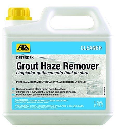 Fila Grout Haze Remover Deterdek 1 Gallon Grout Cleaner