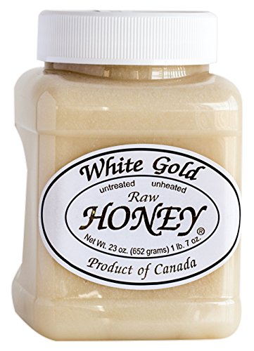 White Gold Raw Honey, 2 Pack, 23 Ounce every = 46 Ounce