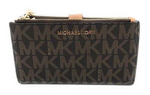 Michael Kors Jet Set Travel Double Zip Wristlet - - Women Michael Kors