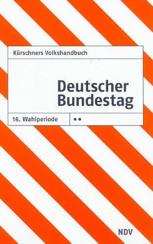 Kürschners Volkshandbuch Deutscher Bundestag: 16. Wahlperiode, 2-Punkt