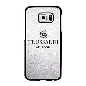 Trussardi Brand Symbol SamSung Galaxy S6 Funda Case, Colorful Plastic Trendy Funda Case Cover Protector for Boys Fit For Galaxy S6